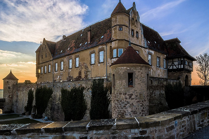 Stettenfels Castle Full View